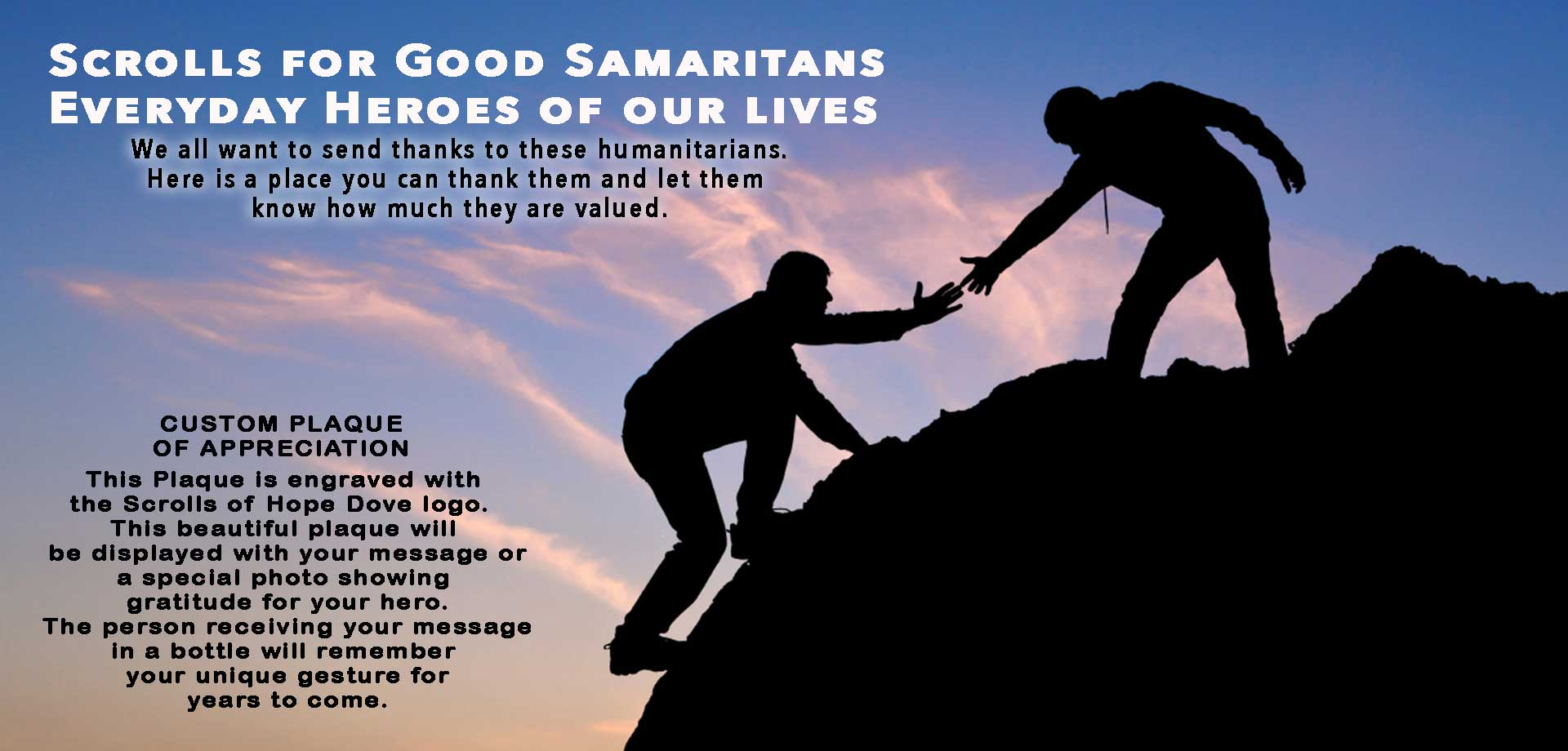 Scrolls for Good Samaritans